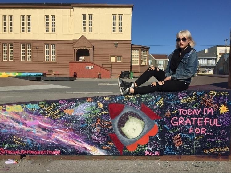 gratitude wall - playland@43rdA - thegalaxyofgratitude | ello