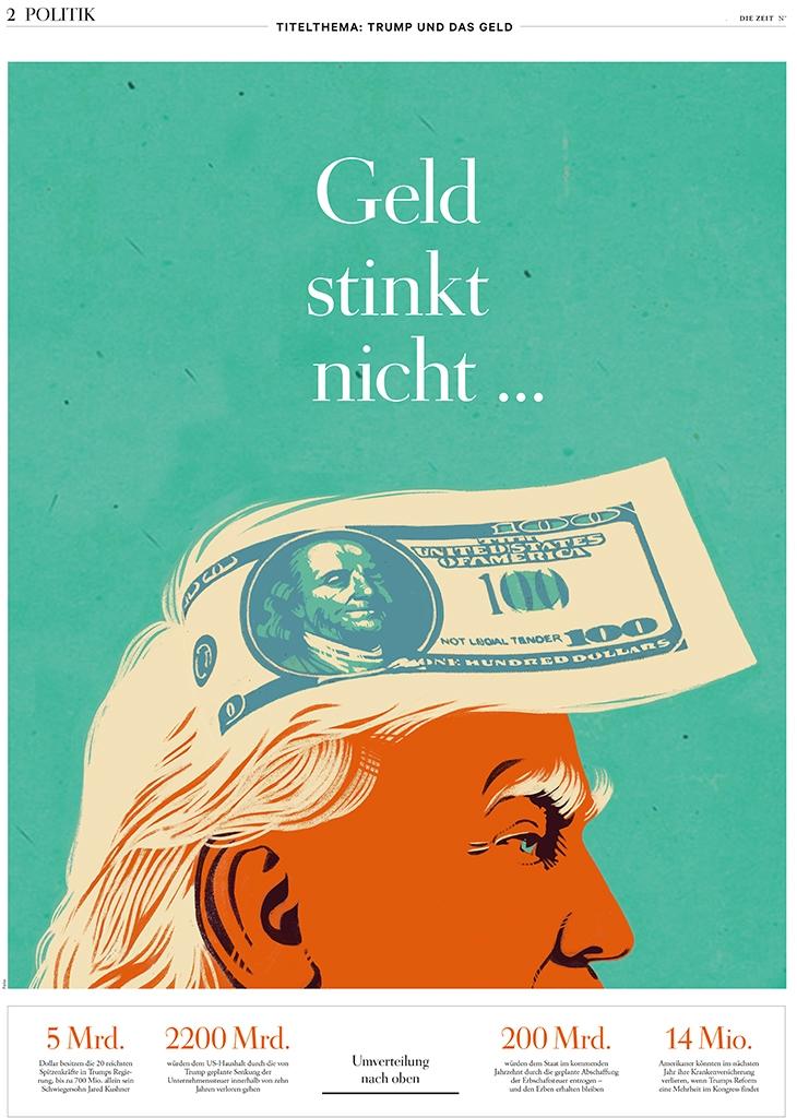 die Zeit, cover Politik section - canuivan   ello
