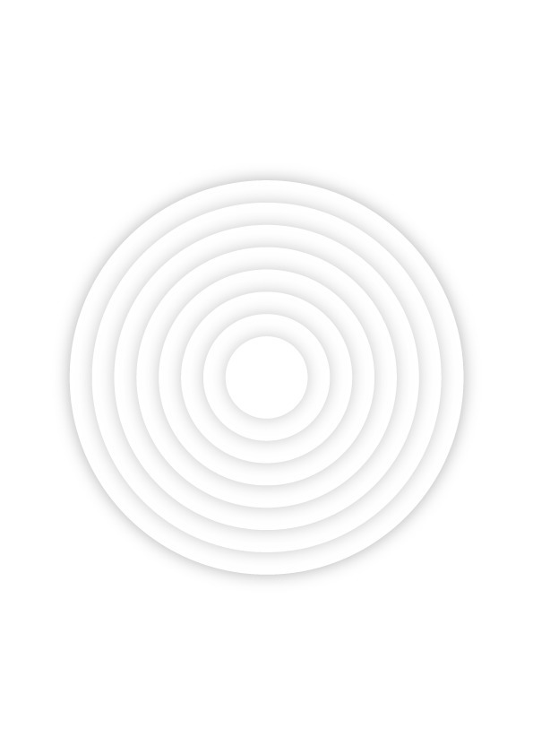 white. circle. shadow - benja_d | ello