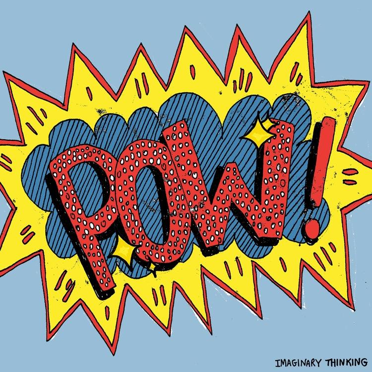 Good morning! POW! Daily drawin - imaginarythinking   ello