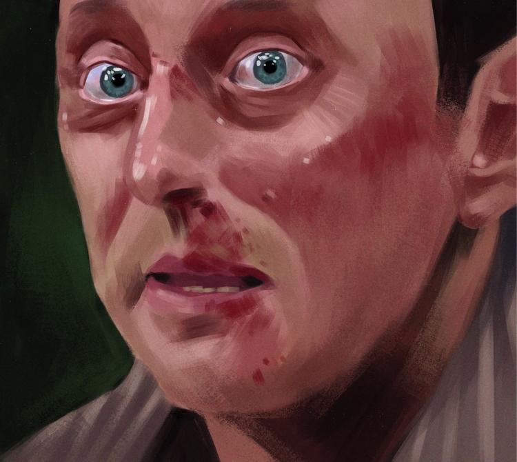 Benjamin Linus / painting midni - mrbraintree | ello