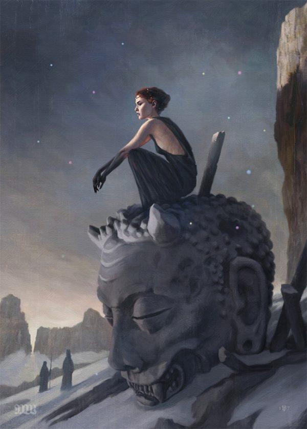 wonderful painting Tom Bagshaw  - wowxwow | ello