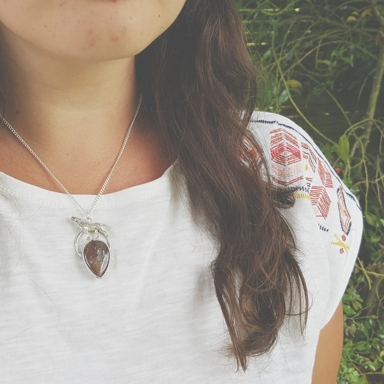 Love wolf necklaces ♡ - jewelry - formvollendung | ello