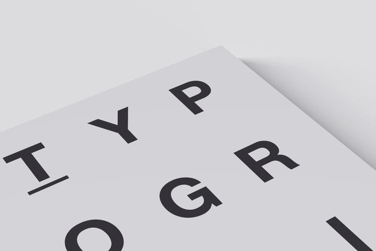 001 / Typografik Magazine Cover - mbdesign | ello