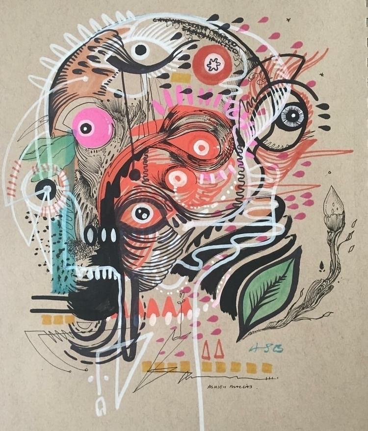 Disfigure Ashley Macias media - artist - ashleymacias | ello