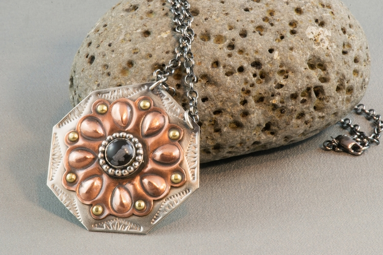 Finished week ... copper, silve - silverobsessions   ello