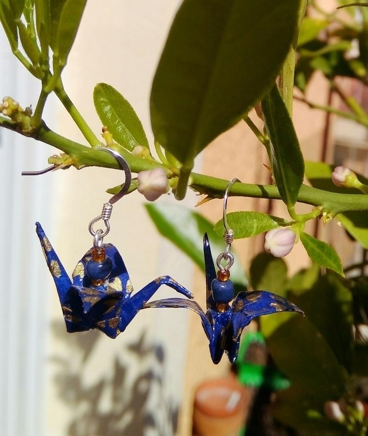 Origami cranes lemon tree - japonerias - japonerias | ello