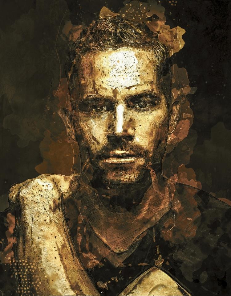 Paul Walker - photoshop, digitalart - zepaulocreation | ello