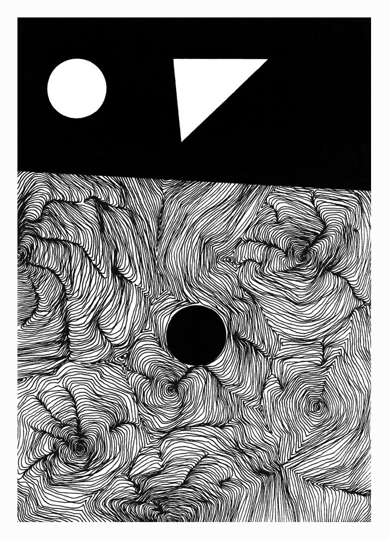 Room 30. 210x148mm, 2017 - art, drawing - carpmatthew | ello