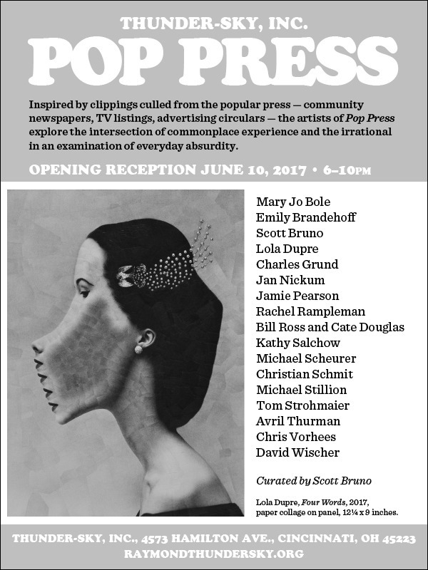 Pop Press opens saturday night  - loladupre | ello