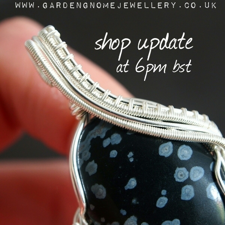 great keeping shop updates toda - gardengnomejewellery | ello