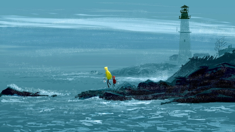 Clam fishing (La Peche aux Moul - pascalcampion | ello