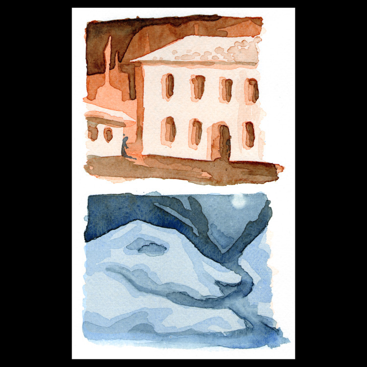 Landscapes - aquarell, akvarell - ckrabbe | ello