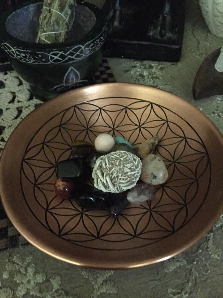 Love flower life bowl - thelunarfae - lupa6791 | ello