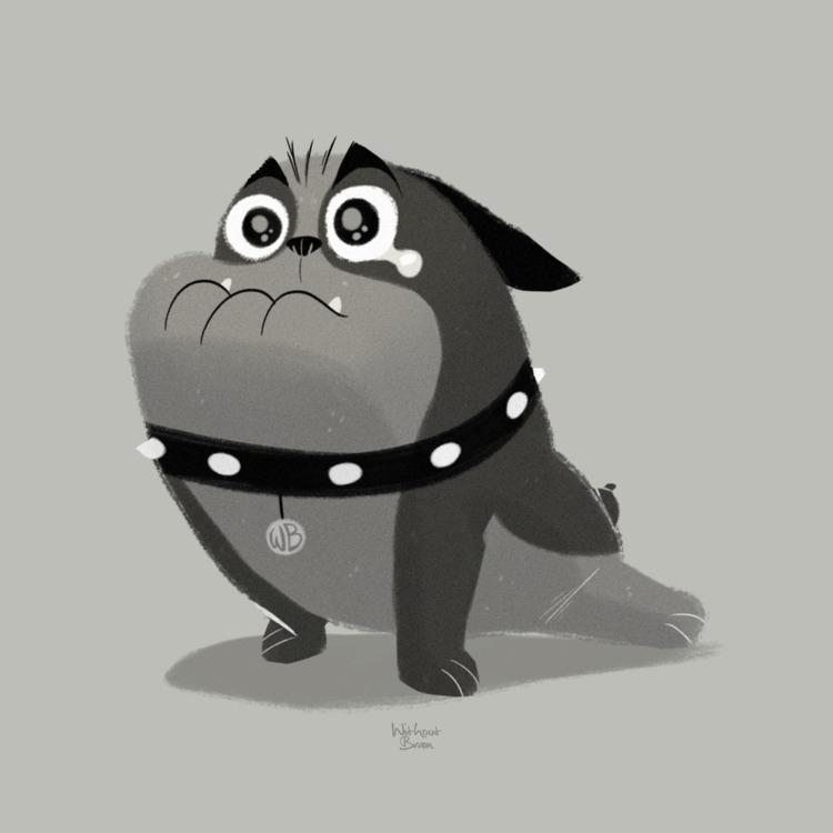 Awnn !!! pug - withoutbrain | ello