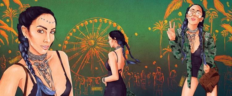 Jade Seba • Mundobrel - illustration - mundobrel | ello
