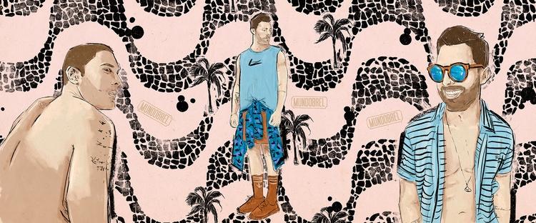 Thiago Maciel • Mundobrel - illustration - mundobrel | ello