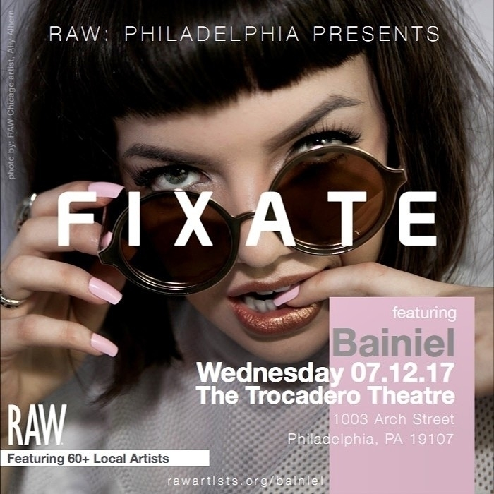 Awesome news! booked RAW FIXATE - kiley_palmer   ello