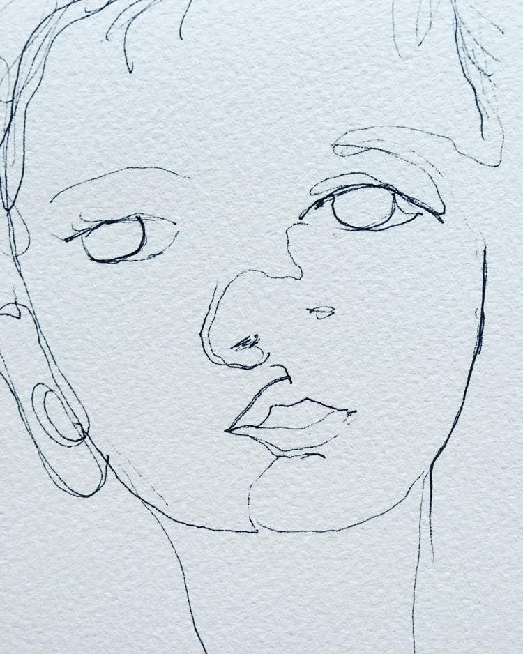 quickie - sketch, boy, elloillustration - arnabaartz | ello