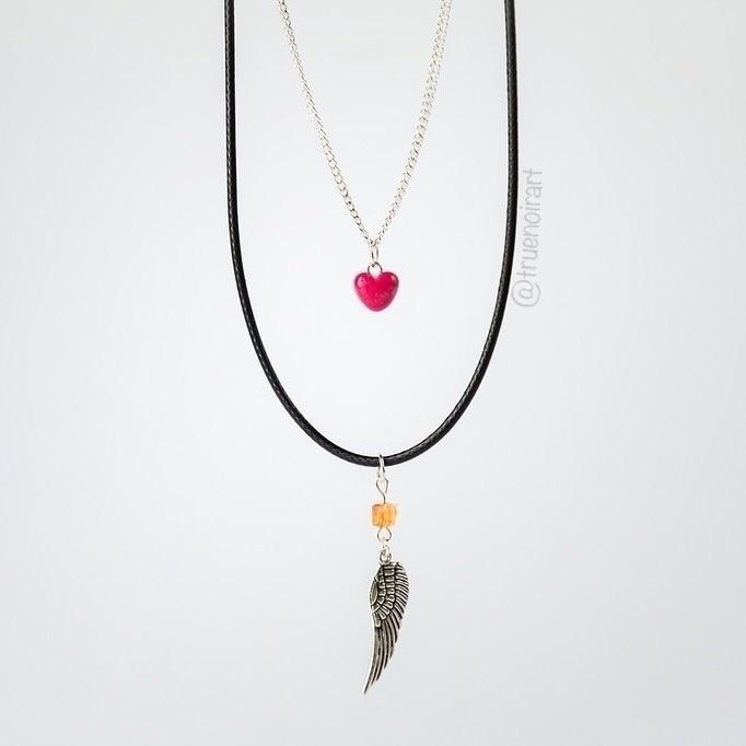 heart necklace :heart:️ Etsy sh - truenoir | ello