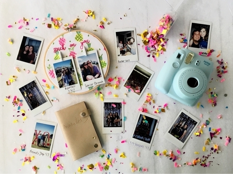 display polaroids? love putting - hoopsandneedles | ello