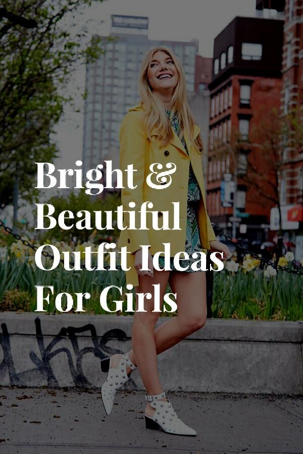 6 Bright Beautiful Girls | - OutfitIdeas - lifestylebyps | ello