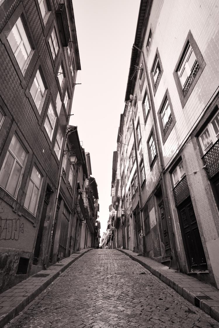 Vertigo, Porto, Portugal, blackandwhite - ryanopaz | ello