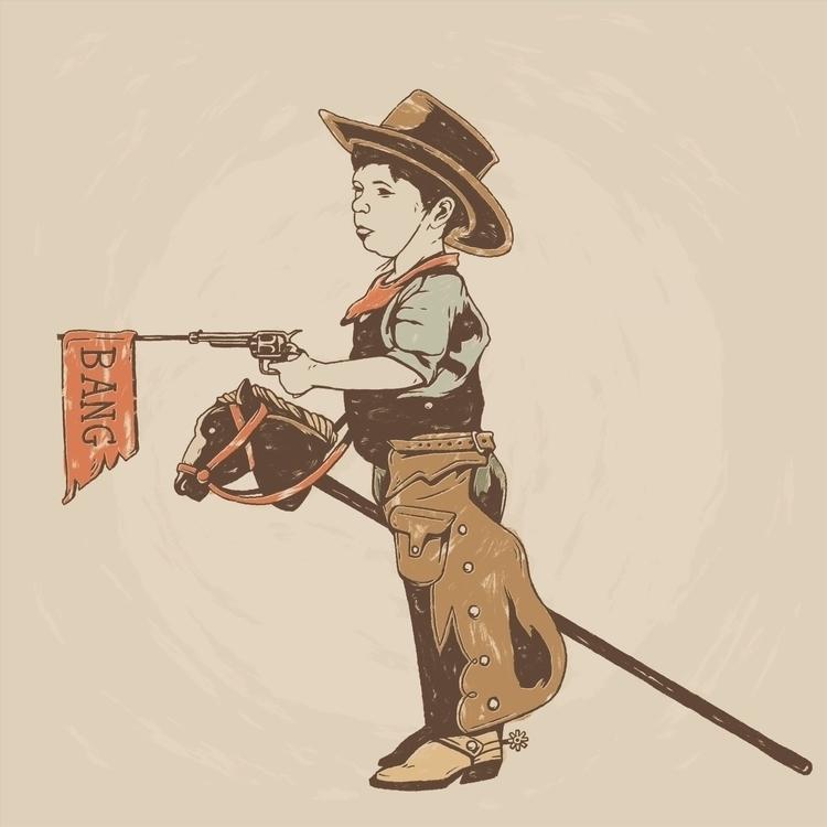 Bang! - Art print - illustration - jstoutillustration | ello