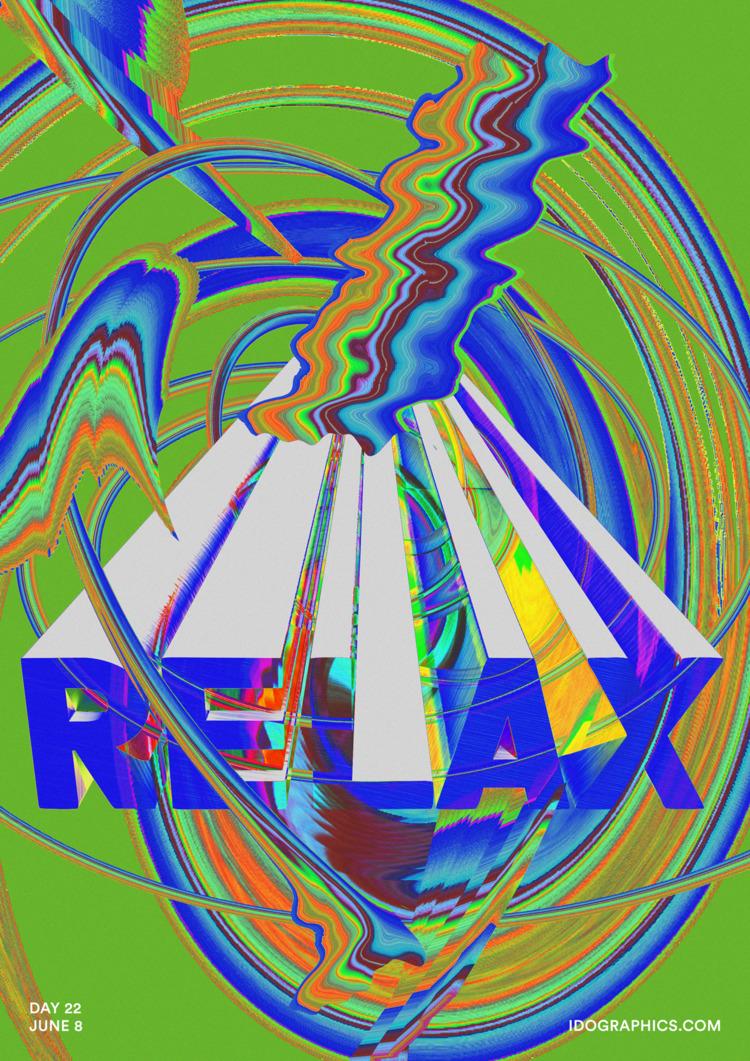 RELAX - design, typography, type - idographics | ello