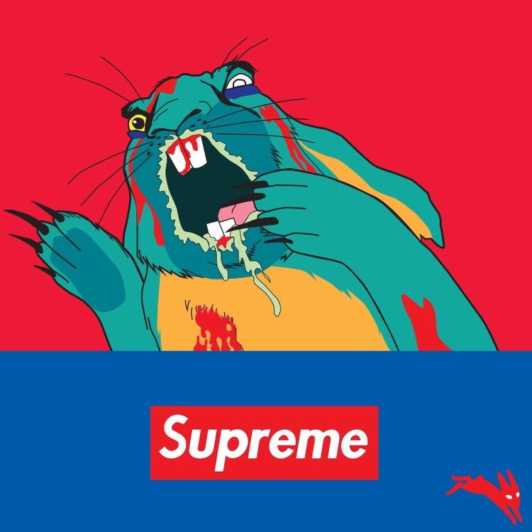 hype beast queuing Fall Supreme - funpowder | ello