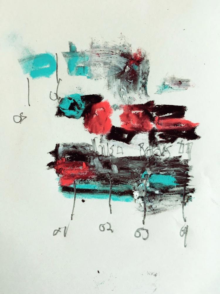 Art Forming Sentences - art, abstract - jkalamarz | ello