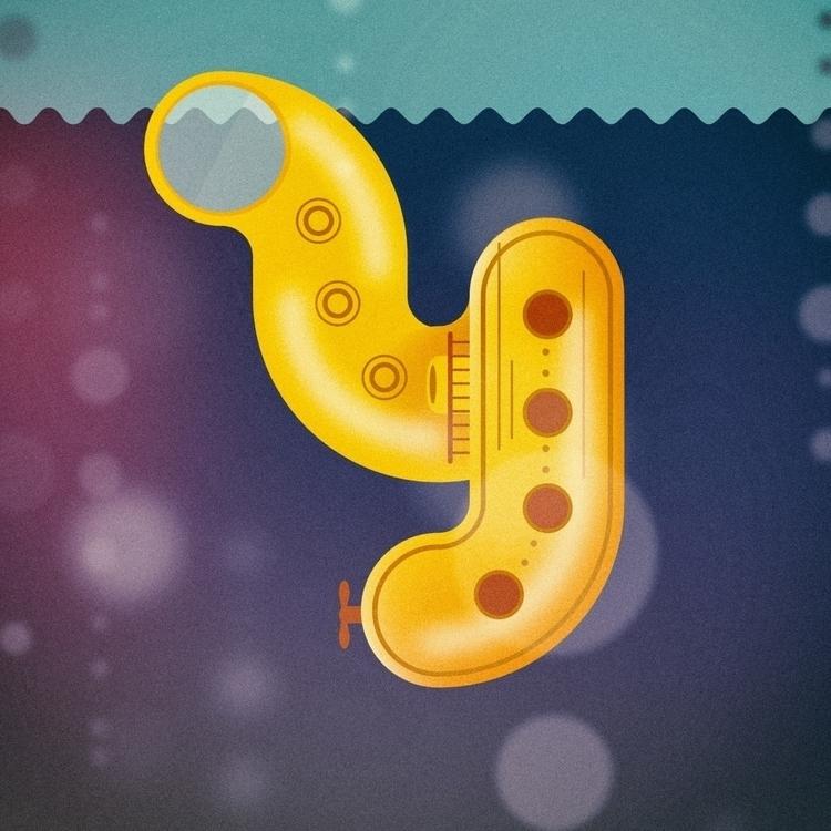 Yellow submarine - 36 days type - iampommes | ello