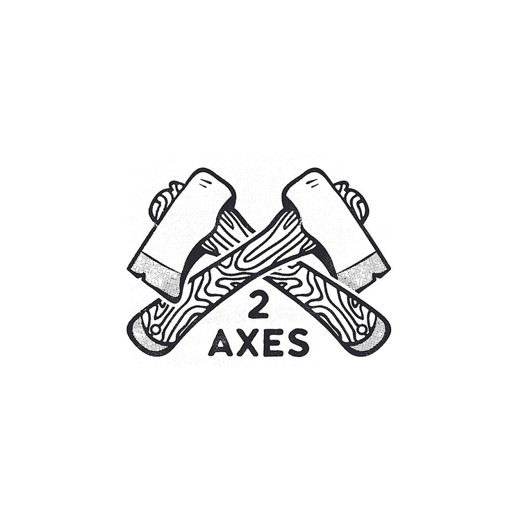 2 AXES - graphicdesign, art, illustration - charleypangus | ello