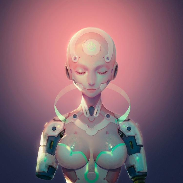 android, cyborg, robot, scifi - ukimalefu | ello