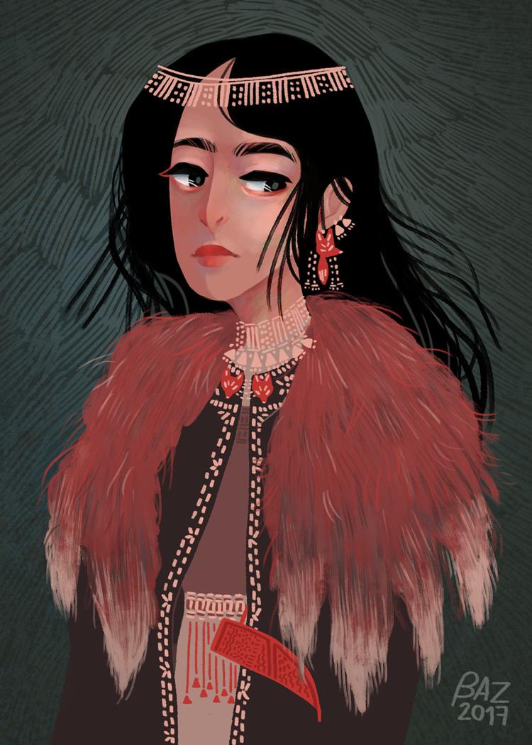 character Virve pretty - digitalart - stbaz | ello