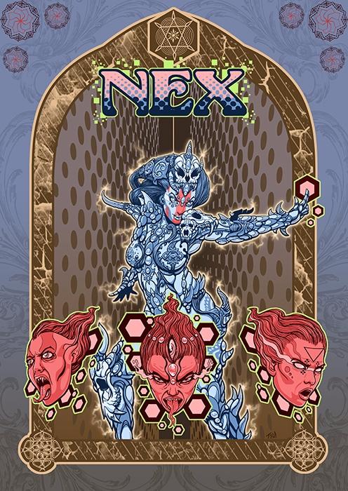 Nex, cosmic voodoo goddess - Pa - timlukowiart2 | ello