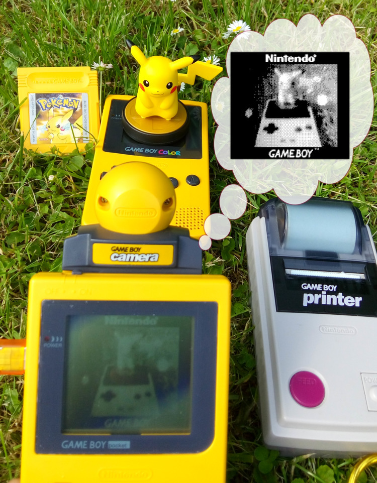 Gameboy Photoshooting !  - gameboy - onelovejah | ello