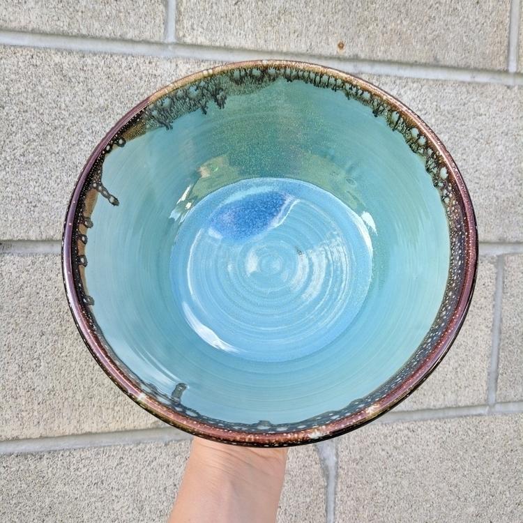 Tortoise Shell Bowl - pottery, stoneware - hillippieclayco | ello