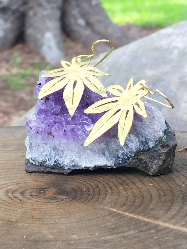 mini dangle earrings gold silve - asotojewelry   ello