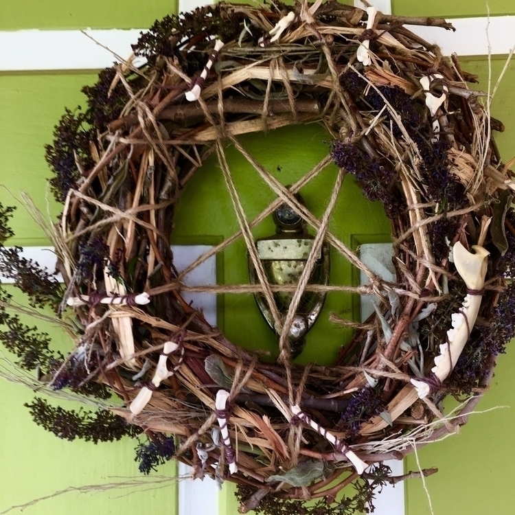 Home Protection Wreath shop! Li - savageapothecary | ello