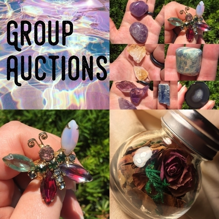 Group AUCTION Reminder! peek In - magikaleeinclined | ello