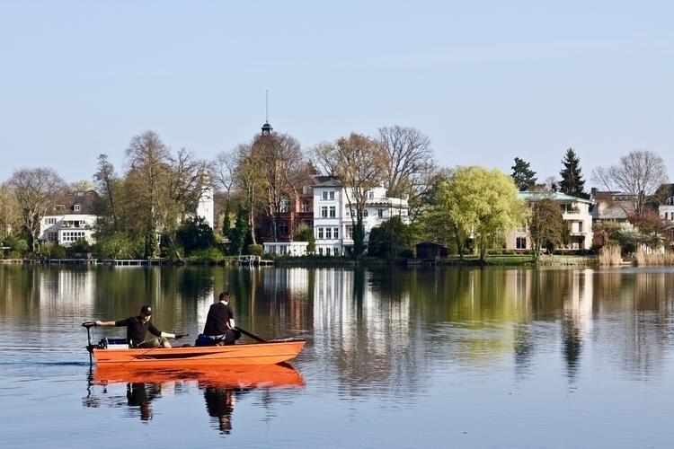 Heiliger Potsdam - fishing, lakeside - hannesb | ello