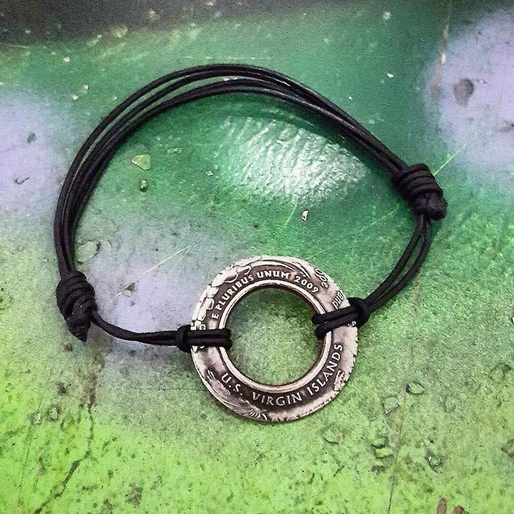 Virgin Islands Coin Bracelet St - midnightjo | ello