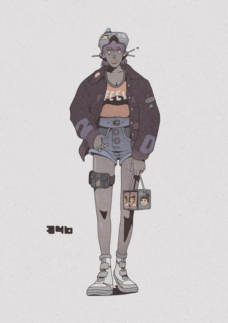 Day 346/365: Pack - illustration - 1sles | ello