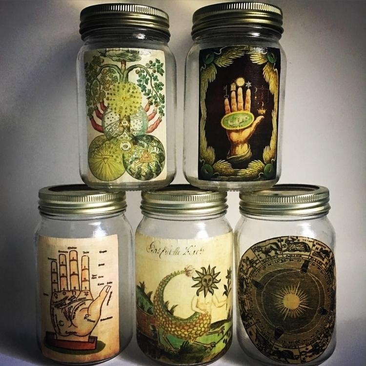 Making esoteric mason jars. fun - helloviolet | ello