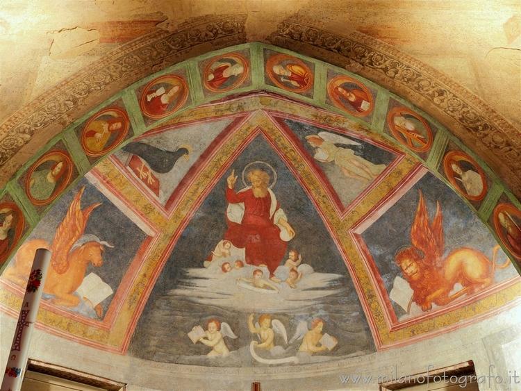 Milan (Italy): Vault left apse  - milanofotografo | ello