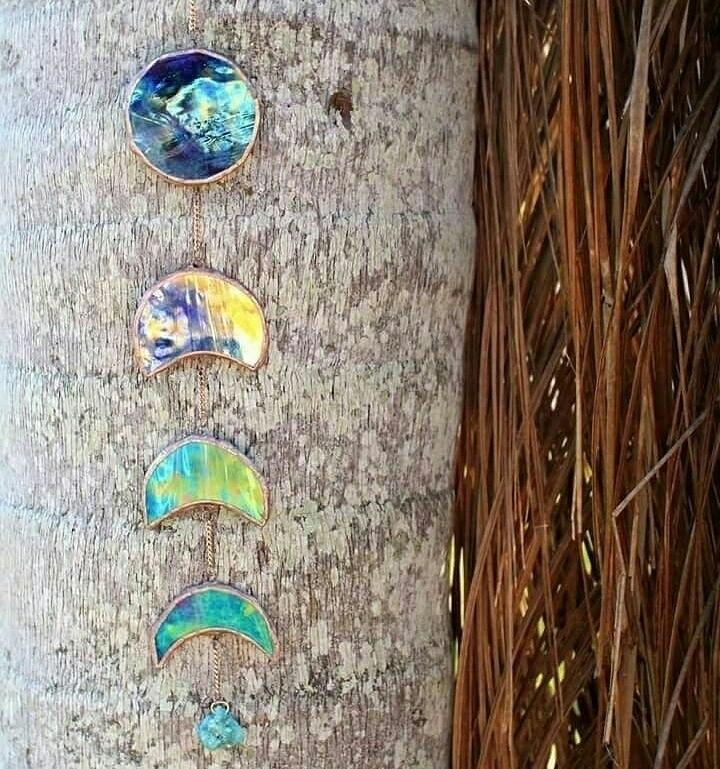 moon phases crystal corners mak - thesweetkarmabar | ello