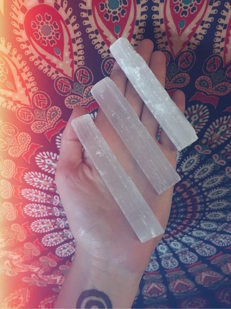 Selenite Wands grabs! $6 piece  - fawnberryapothecary | ello