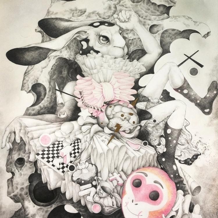 wip, drawing, contemporaryart - alice_lin | ello