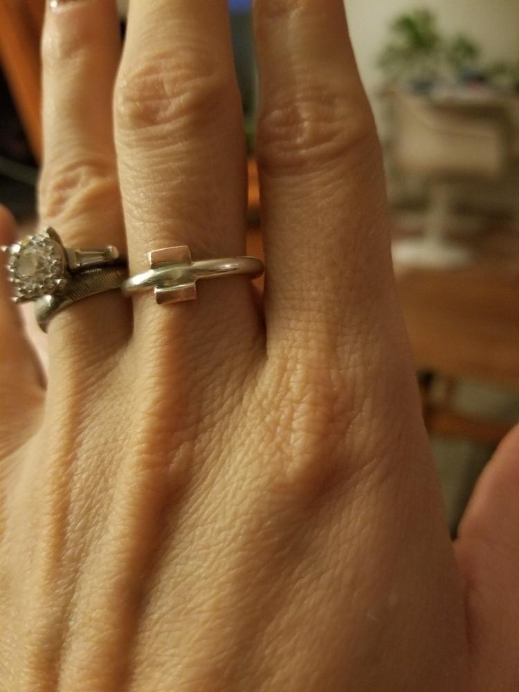 Equal Love rings, left - strandedkiwi   ello